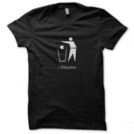 i Utilización camisa negro