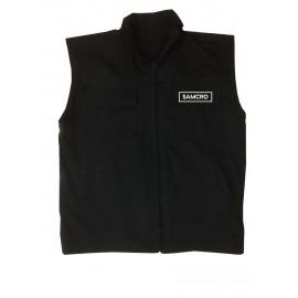 veste gilet samcro sons of anarchy avec patchs brodés