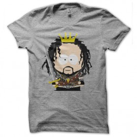 tee shirt astier south park kaamelott gris