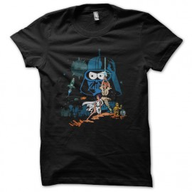 tee shirt star wars simpsons