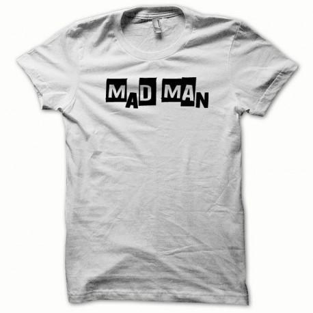 Tee shirt Mad Man noir/blanc
