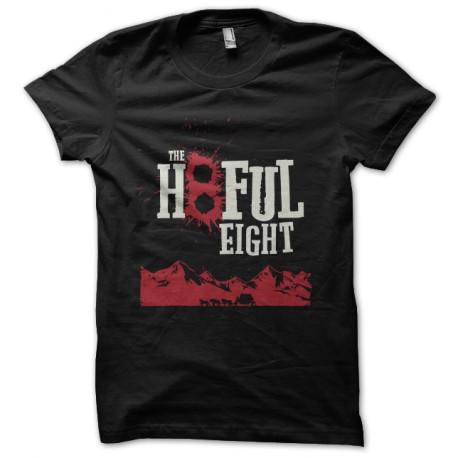 black tee shirt the eight hatefull