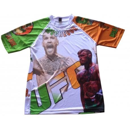 tee shirt conor Mcgregor MMA microfibre front