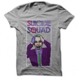 camiseta gris Suicide Squad