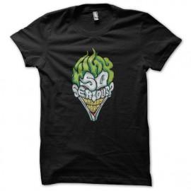 shirt joker why so serious black