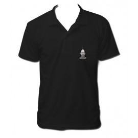 Polo embroidered black boy fallout vault