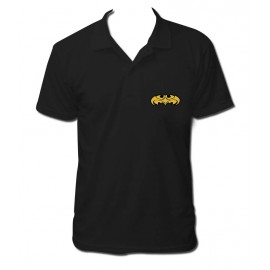 polo batman cartoon brodé