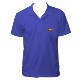 polo superman classic brodé