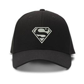 casquette superman sobre brodée