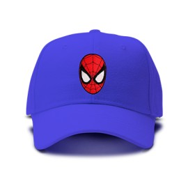 casquette spiderman or brodée