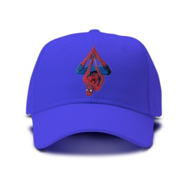 casquette spiderman suspendu brodée