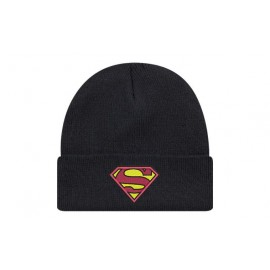 Bonnet superman original de couleur noir