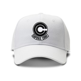 casquette dragon ball capsule corp brodée