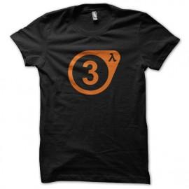 camisa de la vida media de la válvula 3 negro