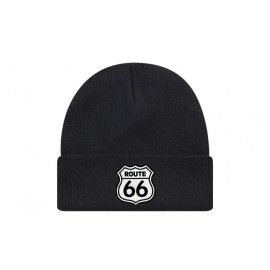 Bonnet route 66 de couleur noir