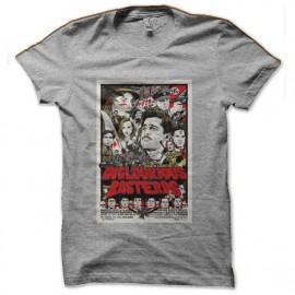 camisa Basterds inglourious bd gris