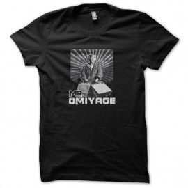 Karate kid tee shirt mr omiyage black