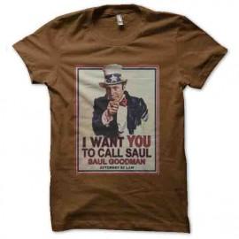 Quiero llamar a saul goodman Brown