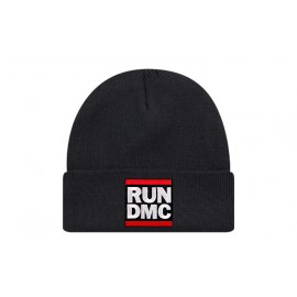 Bonnet run dmc de couleur noir