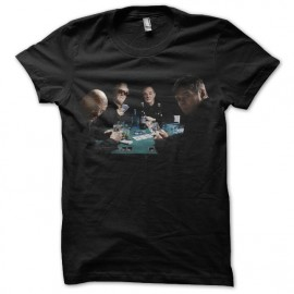 the stranglers black poker t-shirt