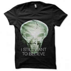 tee shirt i still want to believe x-files