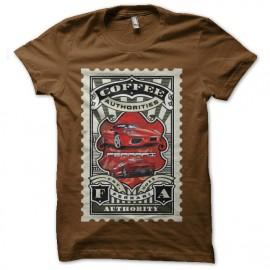 tee shirt ferrari coffee collection