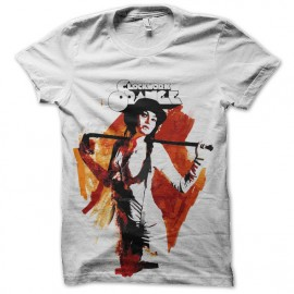tee shirt orange mecanique acquarelle
