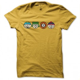 south park dynasty yellow t-shirt