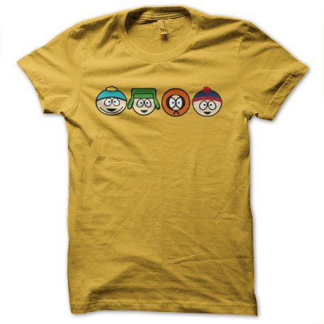tee shirt south park dinasty jaune