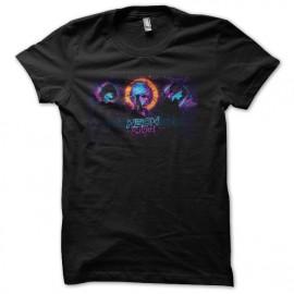 Black bitches neon t-shirt