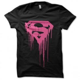 t-shirt superman degoulinant