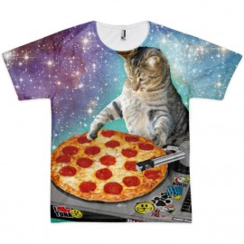 tee shirt pizza chat sublimation