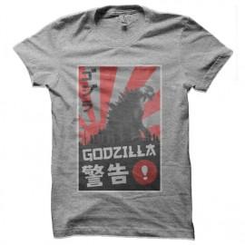 tee shirt godzilla japan edition