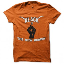 tee shirt black is the new brown