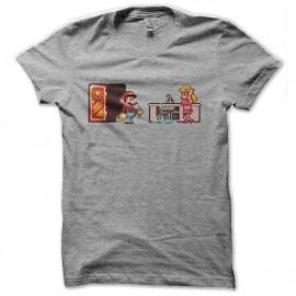 tee shirt mario le plombier et pitch