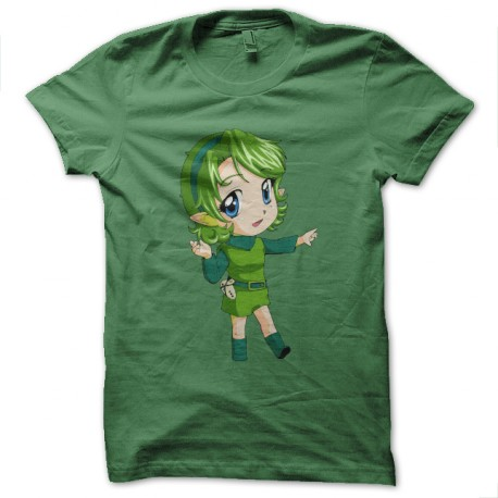 zelda hentai green t-shirt