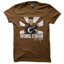 ip man Brown t-shirt
