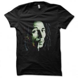 t-shirt bob marley sepia