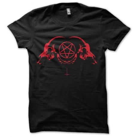 tee shirt pentagrame satanique