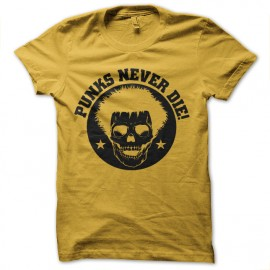 tee shirt punks never die