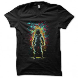 tee shirt deep space astronaute