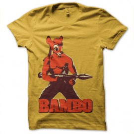 t-shirt bambo is bambi