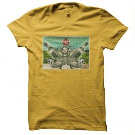 tee shirt havana club jaune