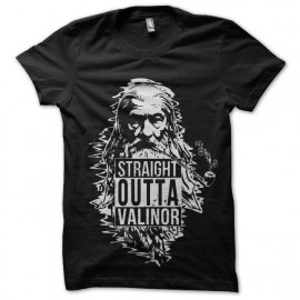 tee shirt straight outta valinor gandalf