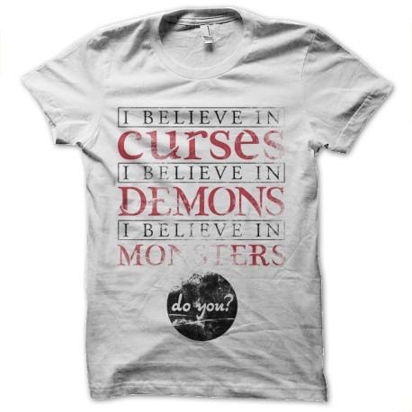 tee shirt sorcelerie blanc