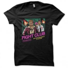 tee shirt fight club 8 bits