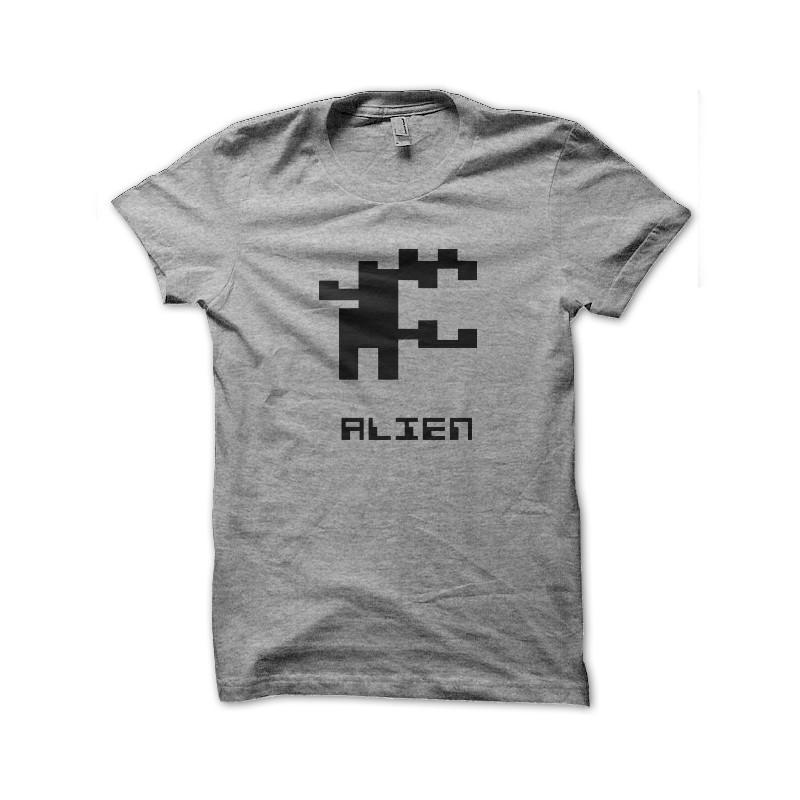 Tee Shirt Alien Symbol Pixel
