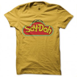 tee shirt playdoo simpsons homer