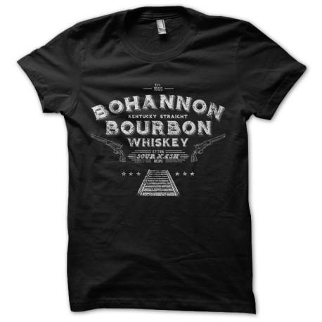 tee shirt hell on whells bohannon whisky