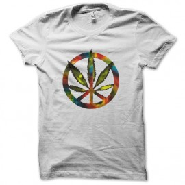 tee shirt marijuana rainbow